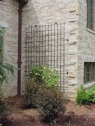 Build A Rose Trellis Large Scale Decorative Iron Trellis For A House Wall Exterior