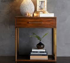 bedside table fitz nightstand pottery barn