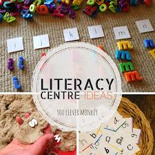 center ideas literacy centre ideas you clever monkey