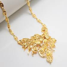 gold pendant chain necklace images 2013 annuity plated gold necklace phoenix shop new models bride jpg