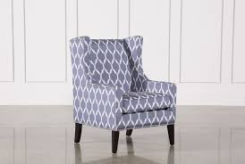 Blue Accent Chair Cabot Blue Accent Chair Living Spaces
