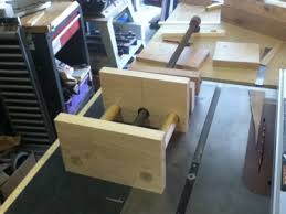 anyone make a shop made bench vice woodworking talk