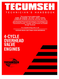 tecumseh basic troubleshooting u0026 service information gasoline
