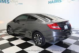 used honda civic 2013 2013 used honda civic coupe 2dr automatic ex l at haims motors