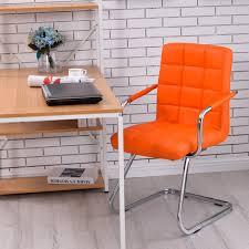 Study Desk Malaysia Full Leather Z Leg Design Stylish Office Chair Study Chair
