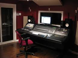 small music studio small music studio with red wall and wooden flooring design idea