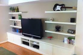 livingroom shelves ikea living room wall with shelving carameloffers