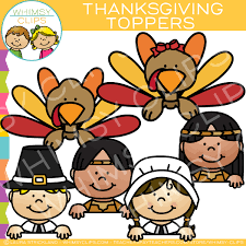 thanksgiving clip images illustrations whimsy