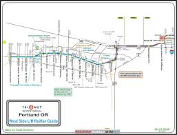 Chicago Elevated Train Map by Railfan Guides Of The U S