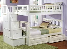 Twin Over Full Loft Bunk Bed Plans by Best 25 Bunk Beds With Storage Ideas On Pinterest Corner Beds