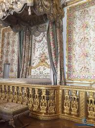 summer tour of the palace of versailles wheelchairtravel org photo description bed with floral drapes extending from the ceiling