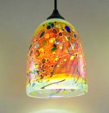 art glass pendant lights art glass pendant lights innovative clear dome light by rick hunter