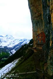 Narrow Picture Ledge Berggasthaus Aescher U2013 Adventure In The Mountains In Appenzell
