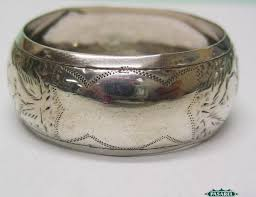 sterling silver napkin ring by william devenport birmingham