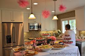 baby shower food ideas pink and white baby shower food ideas
