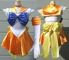 Sailor Moon Halloween Costume Sailor Moon Dress Sailor Venus Mina Cosplay Costume Halloween Costume