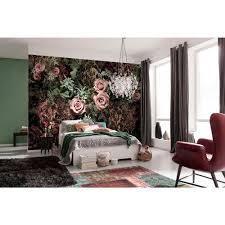 komar bloom wall mural xxl4 046 the home depot w velvet wall mural