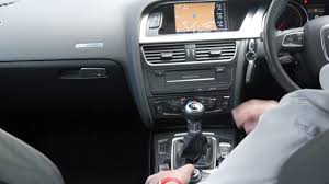 how to set the sat nav in a 2010 audi a5 2 0 tdi s line sportback