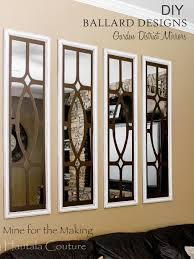 diy ballard designs garden district mirrors mine for the making