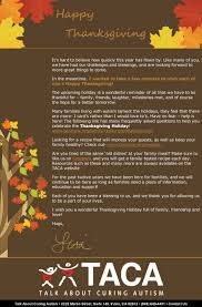 happy thanksgiving blessing happy thanksgiving from taca talk about curing autism taca