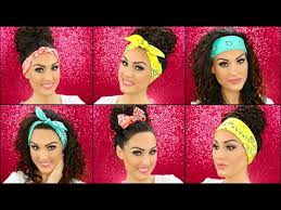 bandana bow how to wear a bandana in 4 different styles