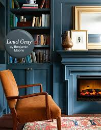 paint color pick lead gray by benjamin moore cozy office