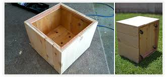 Wood Planter Box Plans Free by How To Build A Planter Box Casual Cottage