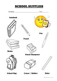 32 free esl supplies worksheets