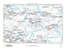 Montana Map Usa by Beaver Creek Birch Creek Drainage Divide Area Landform Origins In