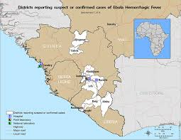 west africa map ebola could ebola virus in africa spread to america the umhs