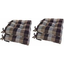 buffalo check woven plaid chair pads wit walmart com
