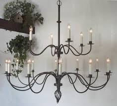 Metal Chandelier Antique White Wrought Iron Chandelier Foter