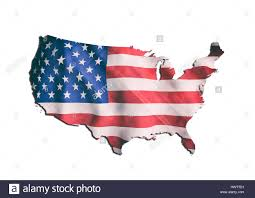 A United States Map by Illustration Of A United States Of America Flag And Map Its A Jpg