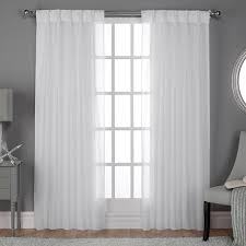 Sheer Pinch Pleat Curtains Sheer Pinch Pleated Drapes
