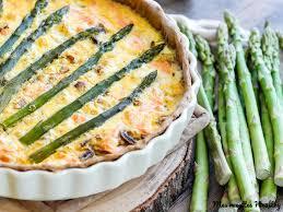 cuisiner asperge verte quiche de saumon et asperge verte au chèvre mes recettes healthy