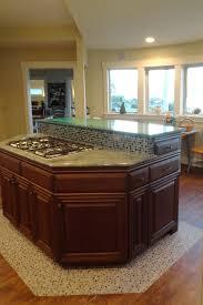bright vinyl wood plank flooringin kitchen style with