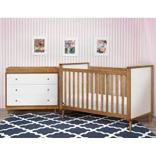 Natural Wood Convertible Crib by Bedroom White Wooden Babyletto Hudson Crib With Gorgeous Bedding