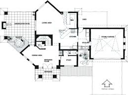 one story modern house plans escortsea contemporary open floor