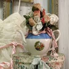 Shabby Chic Flower Arrangement by 200 Best Flower Teapot Bouquet Images On Pinterest Bouquet