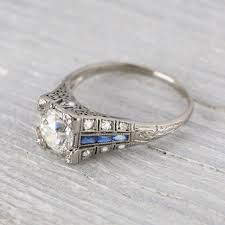 artisan engagement rings 4 places to get the unique and vintage engagement ring you re