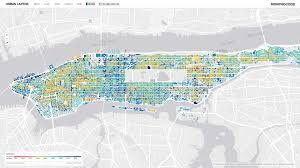 New Jersey New York Map by Maps Find Out How Old Your Favorite New York City Building Is