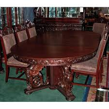 mahogany dining room set r j horner 16 pc winged griffin carved mahogany dining room set