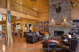 beautiful log home interiors roger wade log home pictures timber frame home design