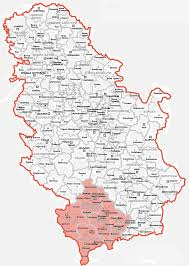 Map Of Serbia European Solidarity Front For Kosovo Interview Center For
