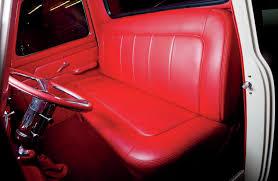 Custom Car Bench Seats 1953 Ford F 100 Car Wash Clean Rod Network