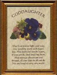godmother to goddaughter poems goddaughter plaque personalized