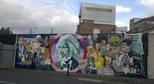 dm the peace line wall mural for frederick douglass 288 about dm the peace line wall mural for frederick douglass 288