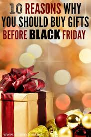 why you should buy gifts before black friday deals