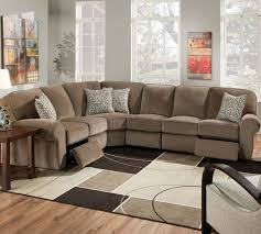Sofa With Chaise And Recliner by Lane 343 Megan Sectional Lane Reclining Sectional Lane