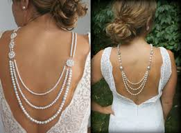 back jewelry necklace images Back drop necklace dramatic wedding jewelry trend jpg